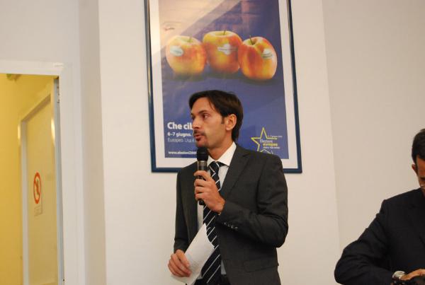 Il segretario dell'Agsp, Marcello Greco, introduce i lavori del Convegno