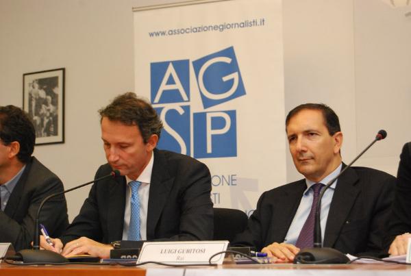 Marco Zappia e Luigi Gubitosi