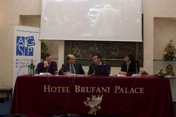 Antonio Preziosi, Giuseppe Cruciani, Gabriele Fontana, Paolo Poggio