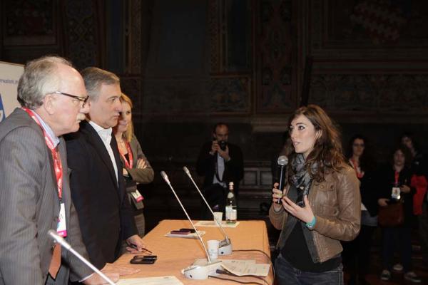 Premio Ue, Agsp per giovani giornalisti premiazione secondo classificato