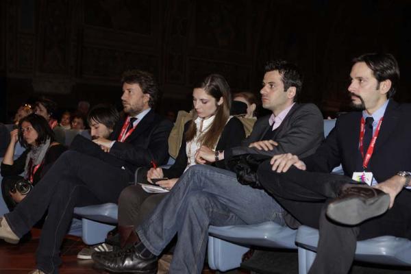 Roberto Chinzari, Mario Forenza e Marcello Greco, direttivo agsp