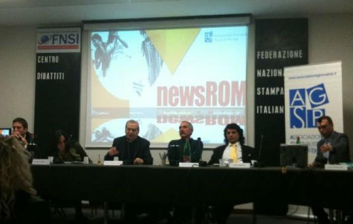"""""""newsROM. Informare senza pregiudizi"""". Roma, oltre 100 i giornalisti partecipanti"""