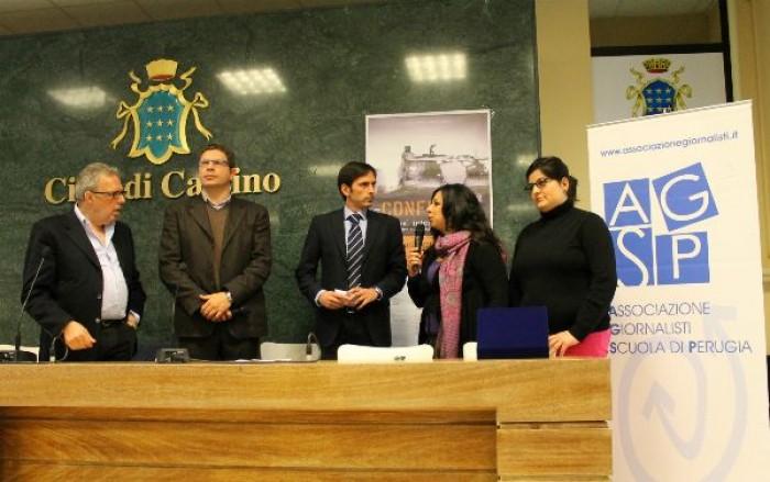 Cassino, giovani giornalisti raccontano i conflitti. L'AGSP premia i vincitori del concorso per le Scuole di giornalismo