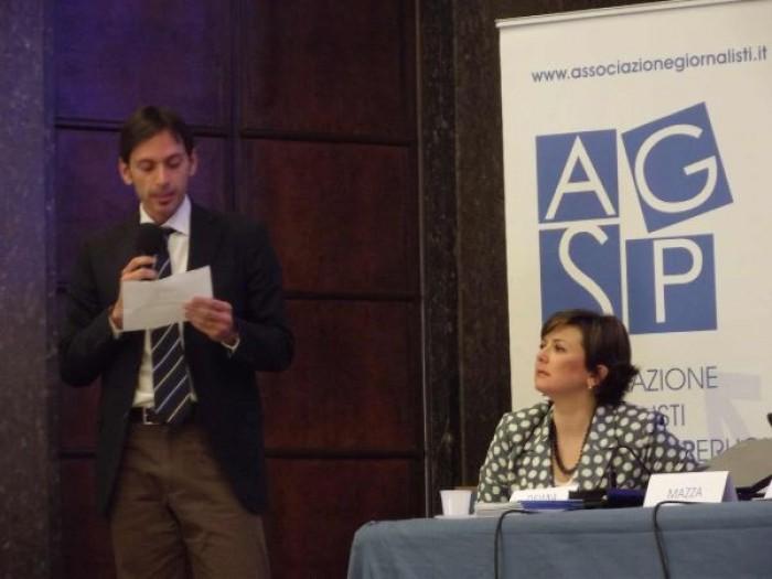 """L'AGSP all'Umbria Water Festival premia i vincitori del concorso """"Comunicare l'acqua"""""""