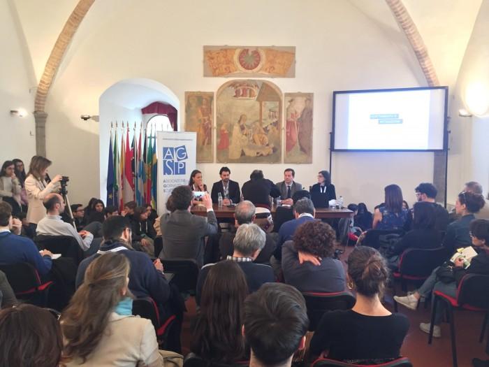 """""""Cambiamenti climatici e giornalismo"""". Successo per il panel AGSP all'IJF18"""